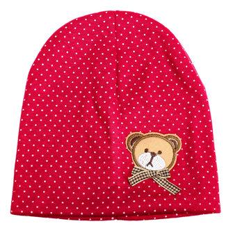 Baby Infant Bear Hat Cute Cartoon Bear Headwear Cotton Hat Cap