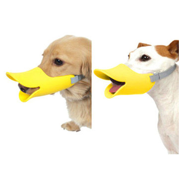 Anti Bite Duck Mouth Shape Pet Mouth Covers Anti-Called Muzzle Masks