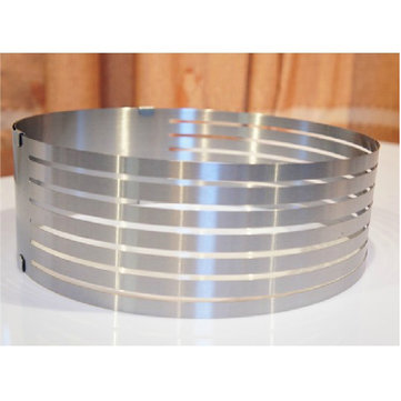 304 Stainless Steel Circle Mousse Ring 6-8 Inch Layered Cake Mould