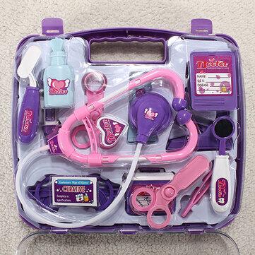Bambino finto medico gioco impostato custodia kit medico