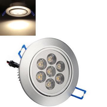 7W 700LM Warm White LED Ceiling Light Lamp Bulb 85-265V