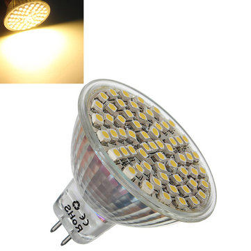 MR16 4W Warm White 360LM SMD 3528 LED Spot Lightt Bulb 12V DC