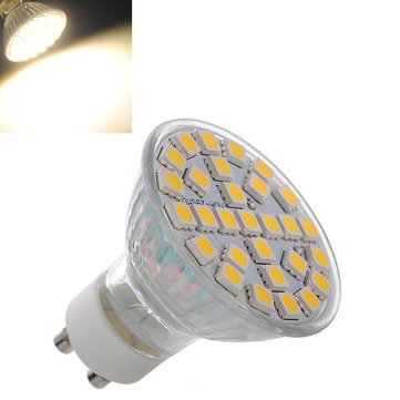 GU10 5W 29 SMD 5050 220V Warm White High Power LED Spot Lightt Bulb