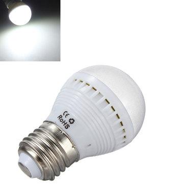 E26 7W Pure White 29 SMD 5050 LED Energy Saving Light Bulb Lamp 110V