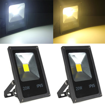 20W White/Warm White LED Flood Light Wash Garden Lamp AC85-265V
