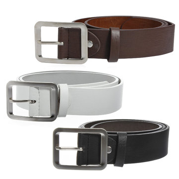 Men's Faux Leather Classical Buckle Fashion Belt