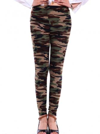 Camo Army Printed Leggings