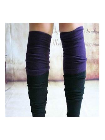 British Preppy StylE Classic Plaid Style Socks Over Knee Socks