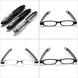 Unisex Folding Portable Eyeglasses Frame Reading Glasses
