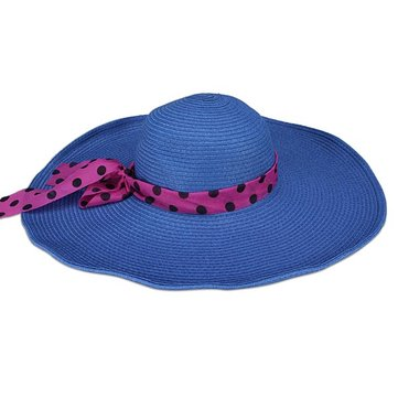 Summer Straw Hat Large Brimmed Hat Folding Sun Hat Beach Hat ... 6ded324ebbc