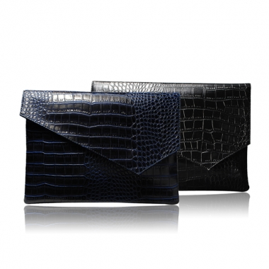 Men's Crocodile Grain Bag Envelope Bag Hand Bag