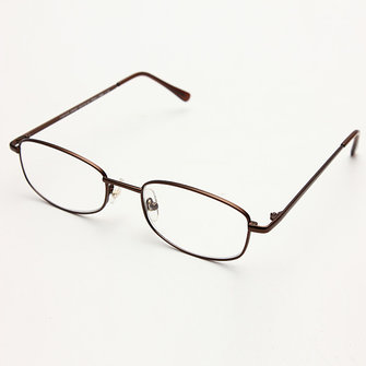 Fashion Mens Women Eyeglasses Metal Frames Reading Glasses