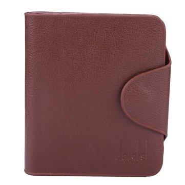 Мужская PU кожа моды бизнес 3 сложенный короткий бумажник