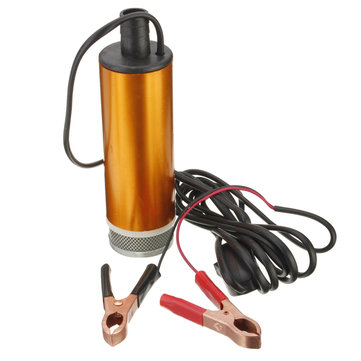 12V Car Truck Diesel Fuel Pump Water Oil Submersible Pump With Switch