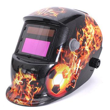 Fire Ball Auto Darkening Welding Helmet Arc Tig mig Grinding Welders Mask