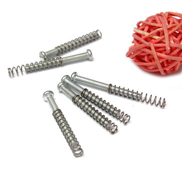 Silver Screws Springs Sets Kits Guitar Humbucker Pickup Mounting
