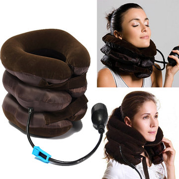 Air Cushion Neck Cervical Traction Shoulder Support Brace Pillow