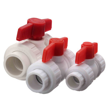 Plastic Pipe Valve PPR Plastic Stop Tap Valve for Water Pipe