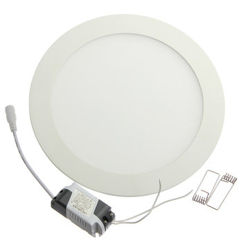 Dimmable Ultra Thin 12W LED Ceiling Round Panel Down Light Lamp