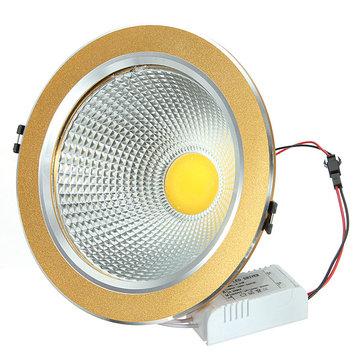 21 วัตต์โคบอลต์ LED เพดานลงหลังคาไดรฟ์โกลเด้นเข็มขัด 85-265V