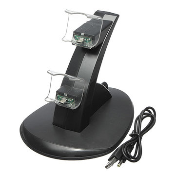 Play Station 4 Dual USB Charging Dock Station Stand for PS4 Controller