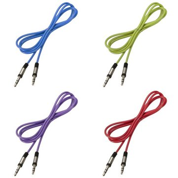 Stereo Audio AUX Cable Cord for IPhone IPod 3.5mm Male To Male