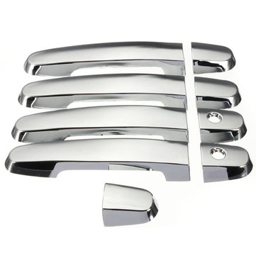 Chrome Door Handle Cover for Toyota RAV4 Prius Camry Corolla 03-11