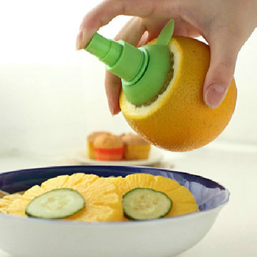 Honana Citrus Spray Hand Fruit Juicer Squeezer Reamer Kitchen cooking Tools