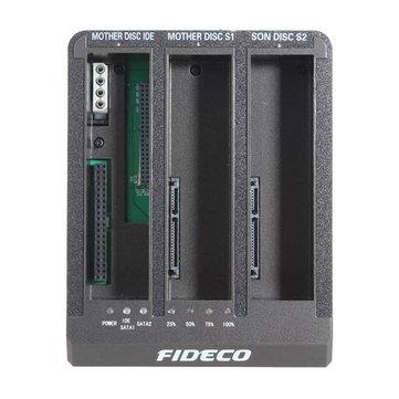 FIDECO 2.5/3.5Inch USB3.0 HDD Docking IDE+SATA HDD Offline Copy