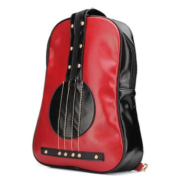 Fashion Violin Backpack Girls Preppy Style Double Shoulder Bag