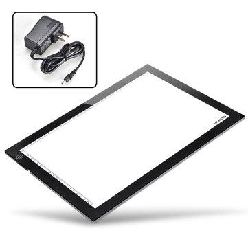 HUION A4 luz LED Caja Tablero de tabla de trazado de trazado ultra fino
