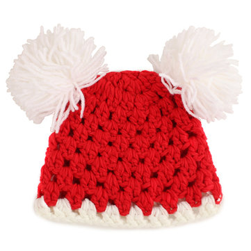 Lovely Pompon Design Nursling Babies Photography Props Hats Caps