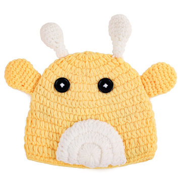 Lovely Animal Cattle Design Baby Newborn Photography Props Hat Caps