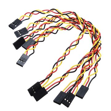 25pcs 3 Pin 20cm 2.54mm Jumper Cable DuPont Wire For Arduino Female To Female