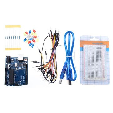 Geekcreit® UNO R3 Development Board Starter Kit Basic Kit For Arduino DIY