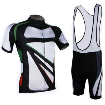 Fietspakje Fiets Sportkleding Shirt Mannen Jersey Bib Shorts