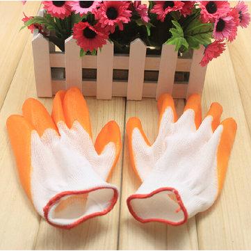 Nylon gomma nitrile guanti da giardinaggio di sicurezza del lavoro guanti da lavoro
