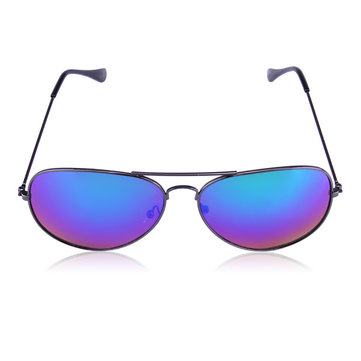 Mens Bright Color Copper Alloy Five Colors Sunglasses