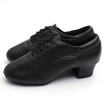 Adult Mens Ballroom Latin Tango Dance Shoes heeled