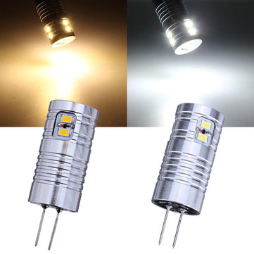 G4 2W Warm White/White 8 SMD 3020 12V LED Light Bulb