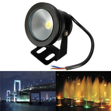 Outdoor 12V Under Water Fountain Waterproof 10W LED Flood Wash Light