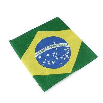 Brazilian Flag Pattern Hip-hop Bandanas World Cup Fans Kerchief