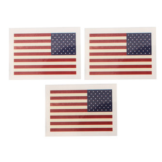 American Flag Pattern Waterproof Tattoo Stickers