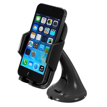 Universal Wind Shield Mount Bracket Car Holder For iPhone Smartphone
