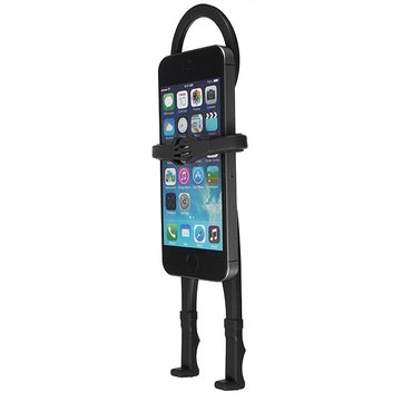 Flexible Human Shape Silicon Car Stand Holder Cover iPhone Smartphone