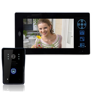 ENNIO CT8501A11 7 Inch Wireless Video Doorbell Phone Intercom