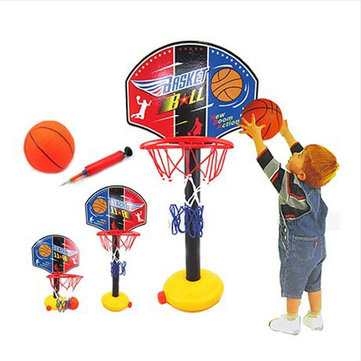 Children Outdoor Toy Basketball Sport Set Adjustable Basketball Stands
