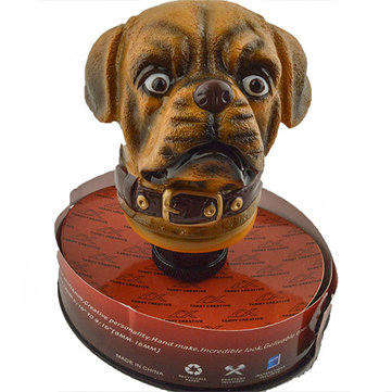 Car Gear Stick Shift Shifter Lever Knob Antique Lucky Dog