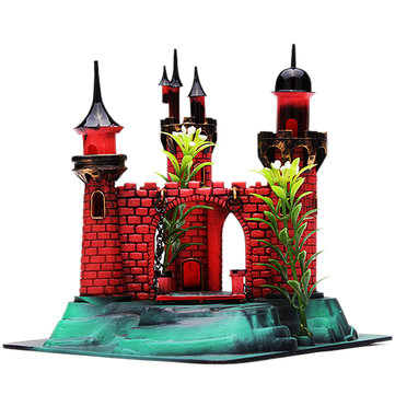 Castle Action-Air Aquarium Ornament