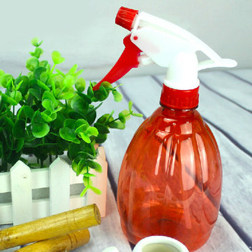 Red Plastic Garden Watering Cans Pressure Sprayer Plant Watering Pot